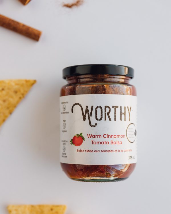 Warm Cinnamon Tomato Salsa
