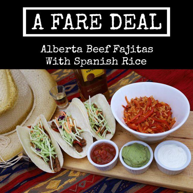 Alberta Beef Fajitas