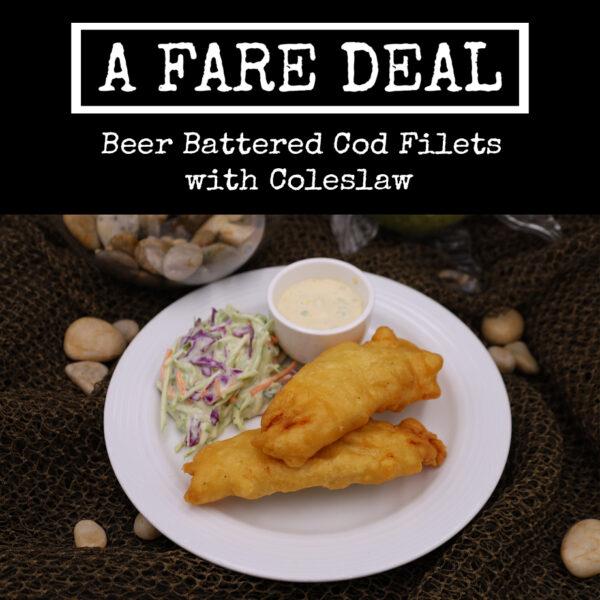 Beer Battered Cod Title