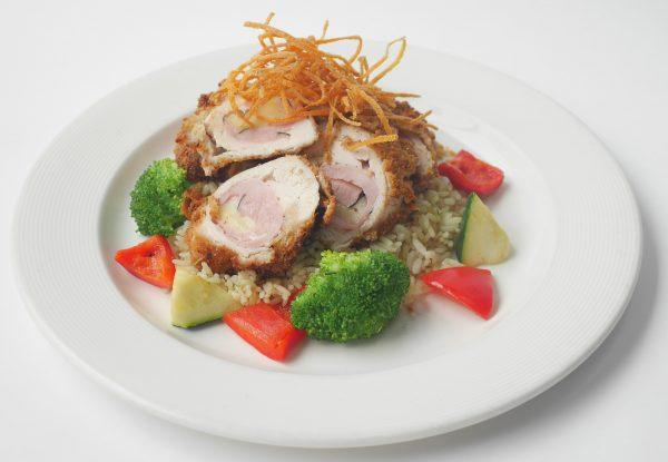 Chicken Cordon Bleu Meal for 4