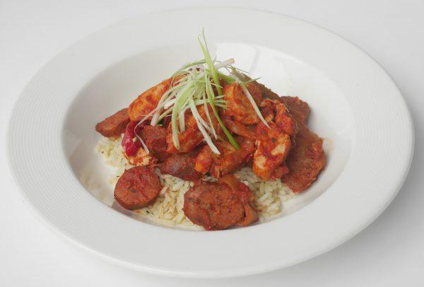 Chicken and Sausage Jambalaya Meal for 4