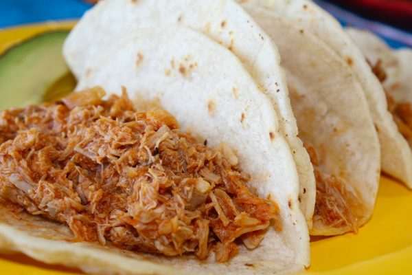 Chicken Tinga tacos Meal for 4