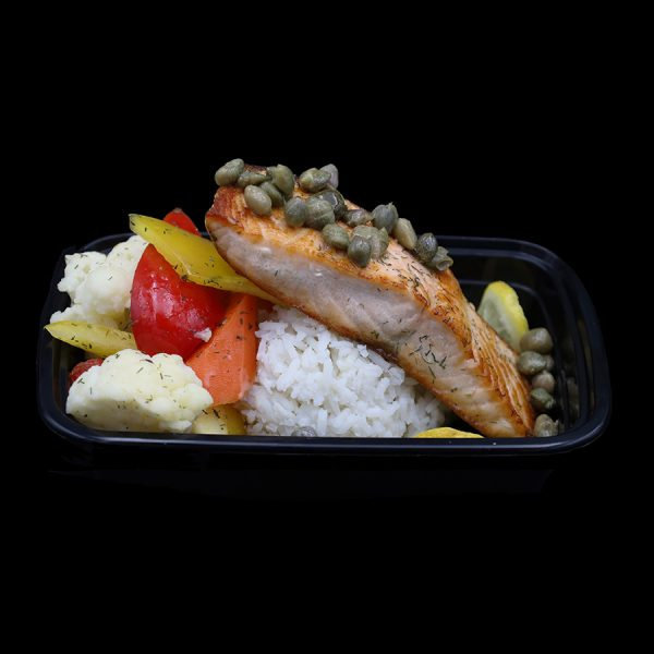 Garlic Butter Caper Salmon