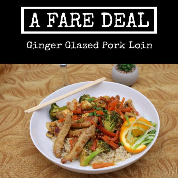 Ginger Glazed Pork Loin