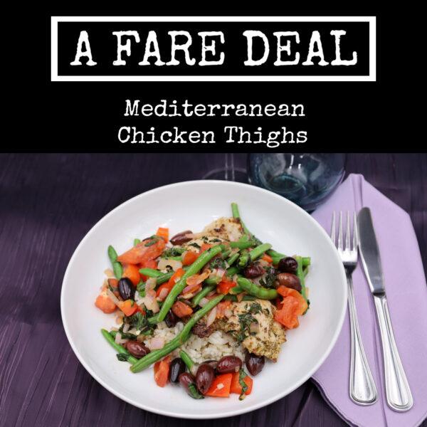 Mediterranean Style Chicken Thighs