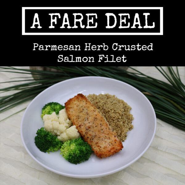 Parmesan Herbed Crusted Salmon