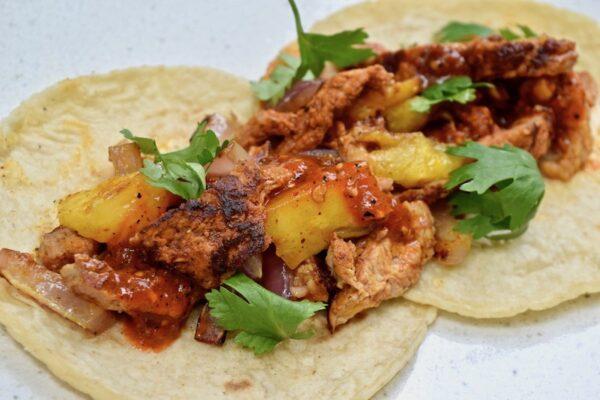 Pork Pastor Taco Fiesta for 4