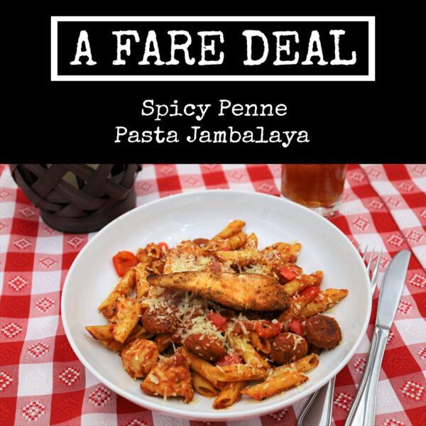 Spicy Penne Pasta Jambalaya