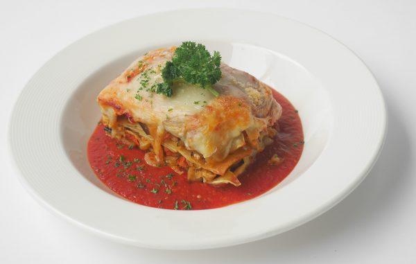 Hand made Vegetarian Lasagne entre for 4