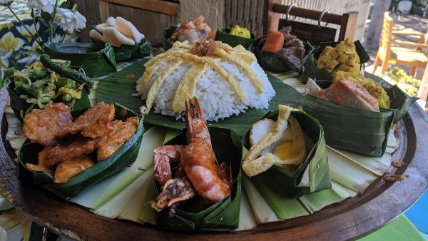 Balinese platter