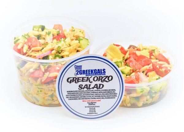 GREEK ORZO SALAD LG